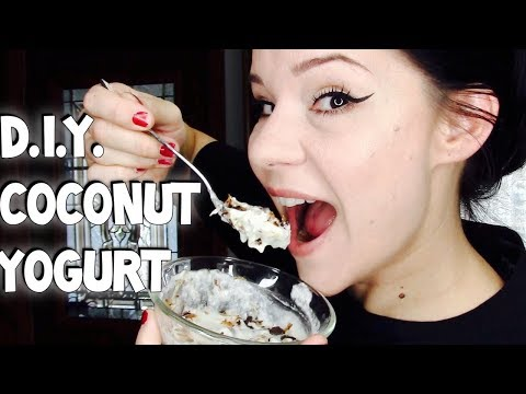 DIY Coconut Yogurt made with Probiotics! | Ketogenic Diet | Dairy Free Yogurt