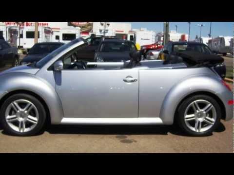 FOR SALE: 2004 Volkswagen Beetle GLX 1.8L Turbo Convertible @ Northpark Motors