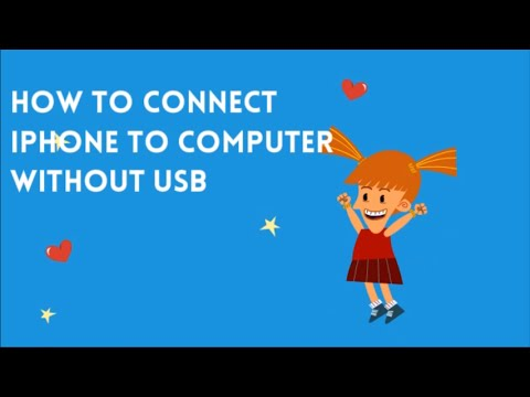 How to connect iPhone to computer without USB