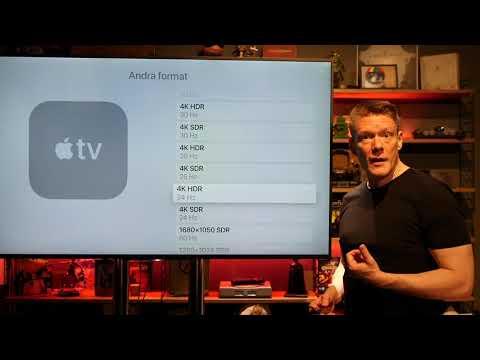 Apple TV 4K, HDR och 24 Hz - hur fungerar det egentligen?