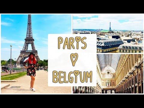 PARIS (France) | BRUSSELS & BRUGES (Belgium) TRAVEL VLOG | Kristen goes to Europe