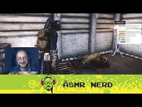 Twitch Archive | ASMR-ish Let's Play Skyrim! | 9 |