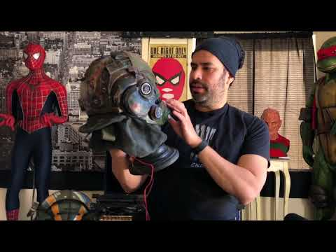 Repainting and modding the Xcoser Titanfall Helmet