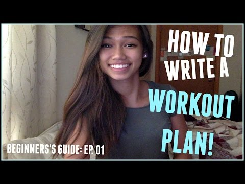 How To Write A Workout Plan