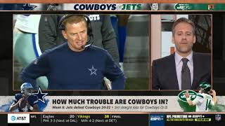 First Take 10/14/19   Stephen A. Smith on Week 6: Jets def. Cowboys 24-22