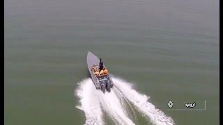 Iran Pash co. Biggest integrated PolyEthylene speed boat ايران پاش بزرگترين قايق پلي اتيلن يكپارچه