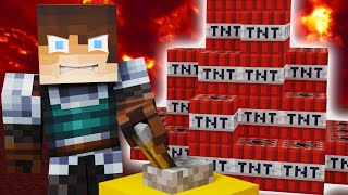 The MAFIA Blew Up the NETHER (Camp Minecraft)