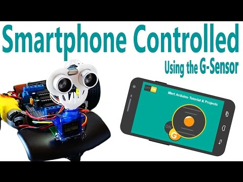 How to Make Bluetooth Control Arduino Robot Car | Accelerometer Gyro Remote XY