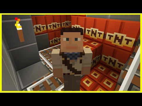 Minecraft PS4 - THE SECRET TNT PRANK!? - Survival [65]