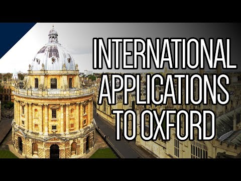 What does Oxford look for in international applicants?