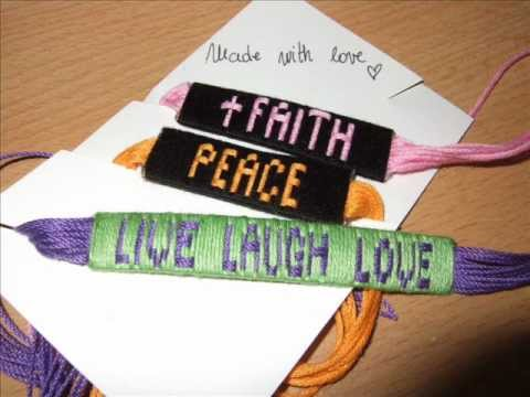 Bracelets with names