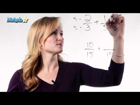 Learn Fractions - How to Add Fractions