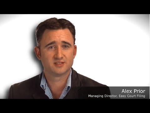NSW e-Filing Services | Alex Prior | InfoTrack