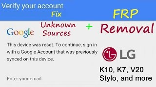 LG K30 FRP/Google Lock Bypass Android 7 1 2 | LG LM-X410TK T-Mobile