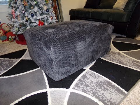 How To Sew A Washable Ottoman Cover
