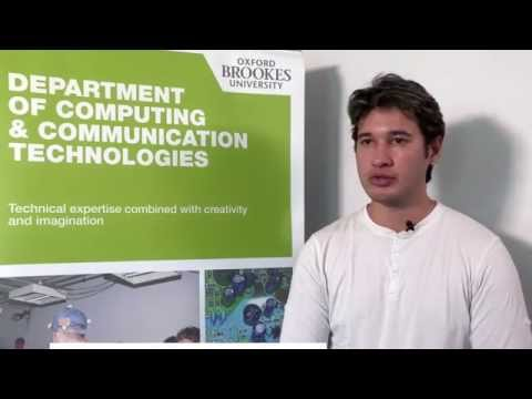 MSc Computer Science at Oxford Brookes University