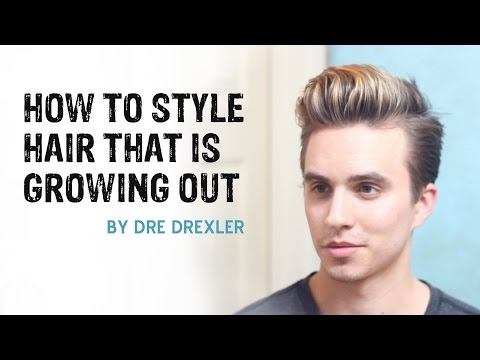 How To Style Hair Growing Out | Ditching the Undercut | Men's Hairstyles