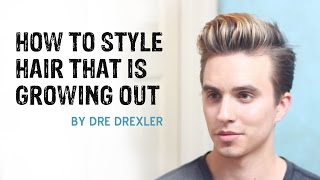 How To Style Hair Growing Out | Ditching the Undercut | Men