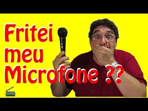 Microfone Dinâmico + Phantom Power = Prejuízo???