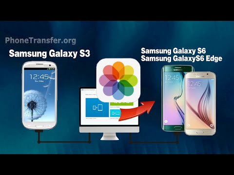 [S3 Photos to S6]: How to Transfer Photos from Samsung Galaxy S3 to Galaxy S6 (Edge)