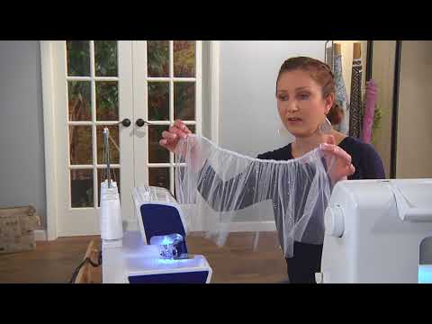 Make a tulle skirt for your favorite little girl on It's Sew Easy with Emily Thompson (1511-2)