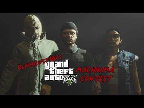 GTA V Machinima Contest ANNOUNCEMENT VIDEO