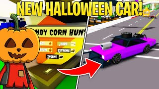 HOW TO GET NEW HALLOWEEN UPDATE CAR! (INSANE CANDY CORN Brookhaven Roblox)