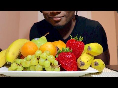 ASMR FRUITS EATING SOUNDS | NO TALKING