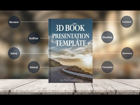 Book Presentation Presentation Template for Prezi