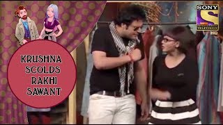 Krushna Scolds Rakhi Sawant For Coming Late - Jodi Kamaal Ki