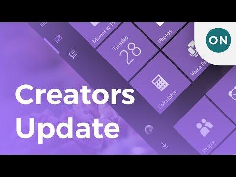 Windows 10 Creators Update - Final Features Demo