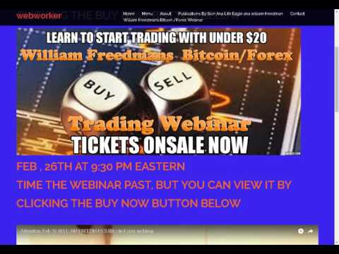 William Freedmans Forex training is working!