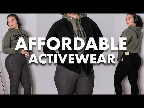 Affordable Activewear Try On Haul | Target & H&M