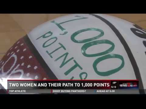 Two High School Athletes Make It To 1K Career Points