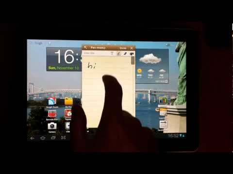 Samsung Galaxy Tab 10.1 touch screen sensitivity problems and solution