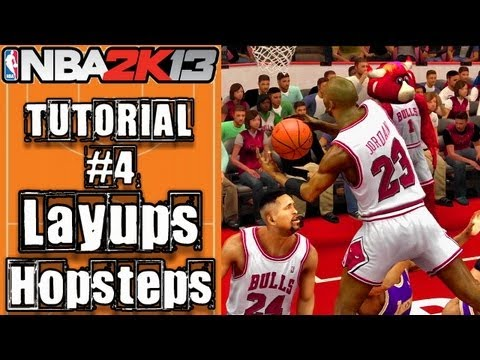 NBA 2K13 Layup Tutorial: How To Do Eurostep, Hopstep, Spins & More