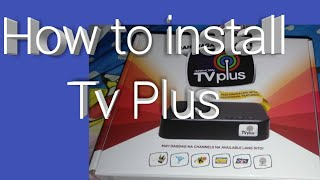 How to install Tv Plus