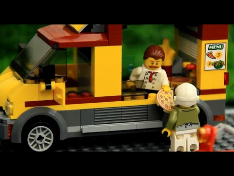 Pizza Delivery Lego Story for Kids