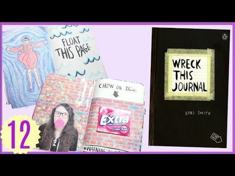 Wreck This Journal Episode 12: Stranger Things, Gum Wall + New Glasses from Firmoo!