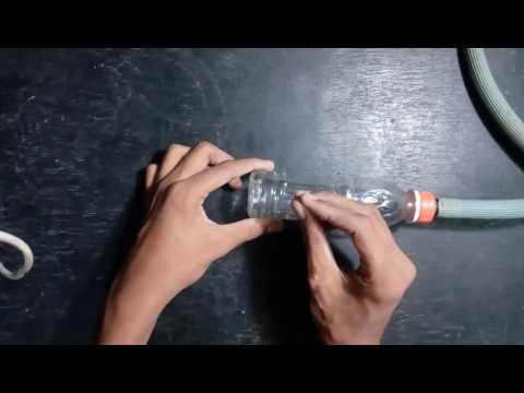 How To Make Shower At Home Using Bottle