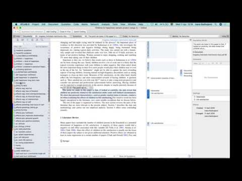 Overview of ATLAS.ti Mac April 11th, 2018