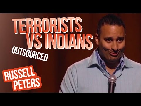 Xxx Mp4 Quot Terrorists Vs Indians Quot Russell Peters Outsourced 3gp Sex