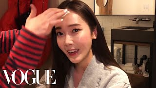 Jessica Jung Gets Ready for Her Fashion Week Adventure   Vogue