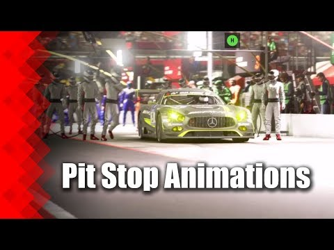 GT Sport Pit Stop Animations