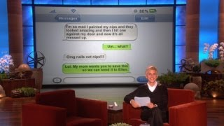 You Should Totally Send That to Ellen