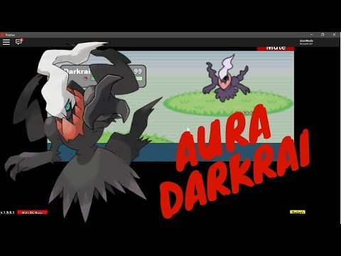 AURA DARKRAI SURPRISE! (Roblox Project: Pokemon)