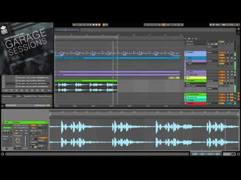 Deep Dubstep Ableton Workflow With 'Ghost Syndicate Garage Sessions Vol.1' Sample Pack