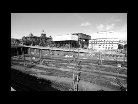 Prague Main Train Station Timelapse