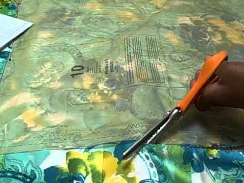 TINA'S SEWING SEGMENT MAXI WRAP DRESS PART 3 6 22 11