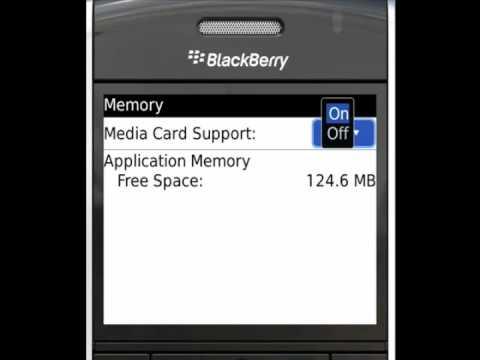 Enabling Mass Storage Mode on BlackBerry - PushLife